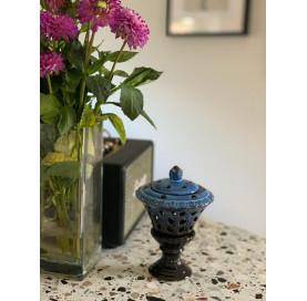 kominek zapachowy niebieski