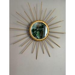 lustro metalowe boho
