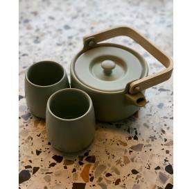 zestaw ceramika