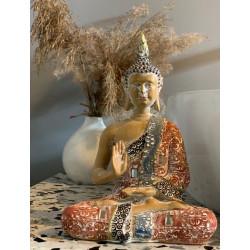figurka siedzącego buddy duża