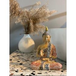 figurka siedzącego buddy mała