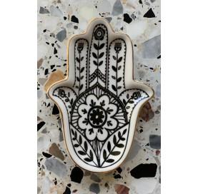 Ceramiczna podstawka dłoń