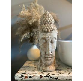 głowa buddy rzeźba